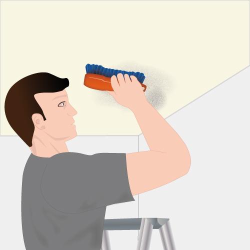 Loại bỏ nấm mốc và cách tẩy nấm mốc trên tường sơn